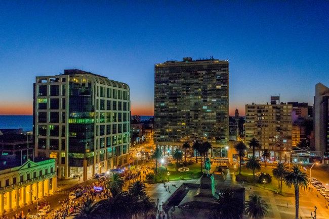 Mochilão pela América do Sul - Montevideo, Uruguai