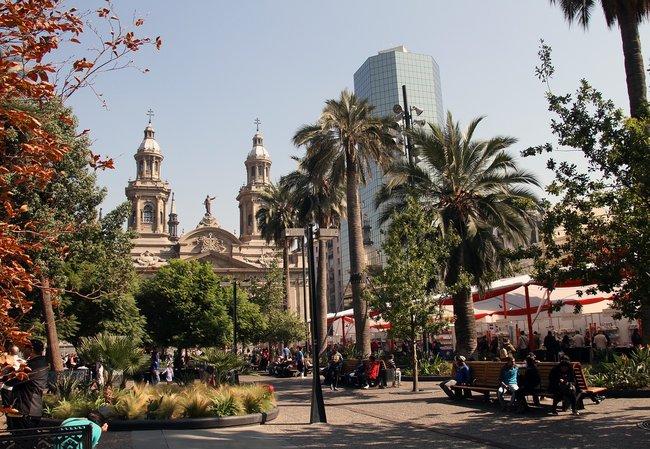 Mochilão pela América do Sul - Santiago, Chile