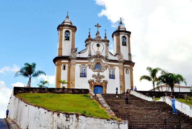 A Igreja e Convento da Nossa Senhora do Carmo em Ouro Preto