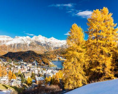 São Moritz no inverno