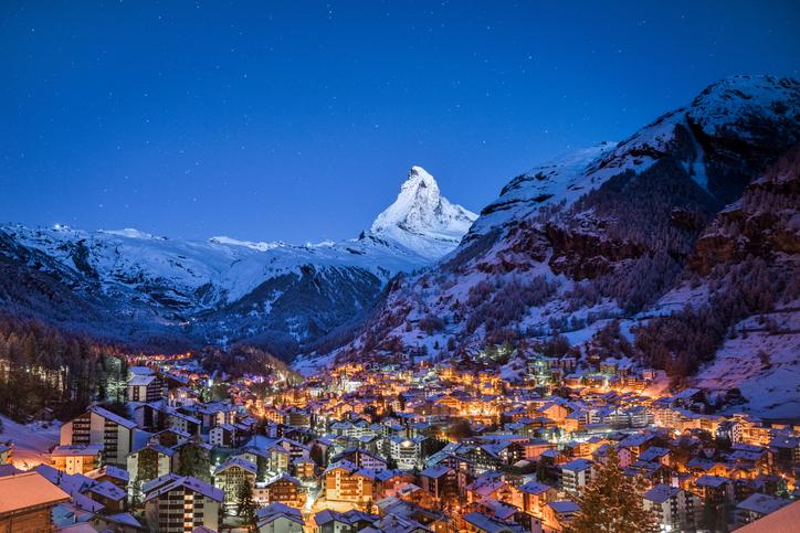 Zermatt e o Monte Cervino