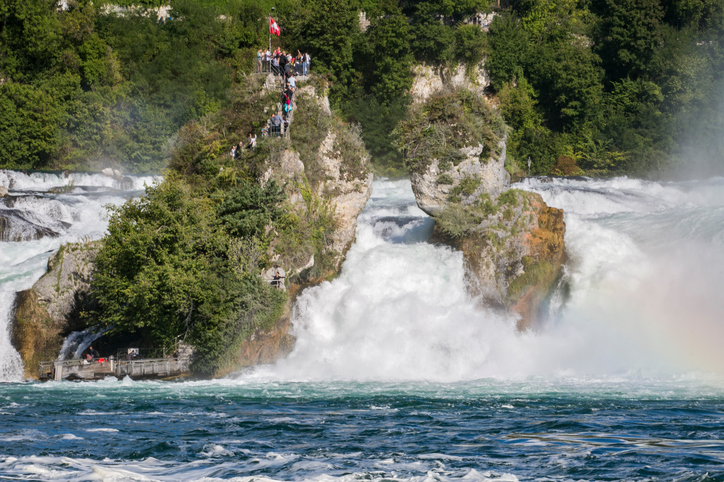 A Cachoeira de Schaffhausen