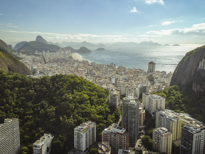 Além de Copacabana, a Marina da Glória é uma das vistas privilegiadas para ver os fogos do Reveillon do Rio de Janeiro
