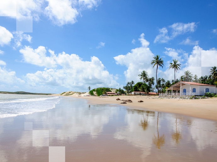 As praias paradisíacas de Natal são o cenário perfeito para ser um dos lugares tranquilos para passar o Carnaval