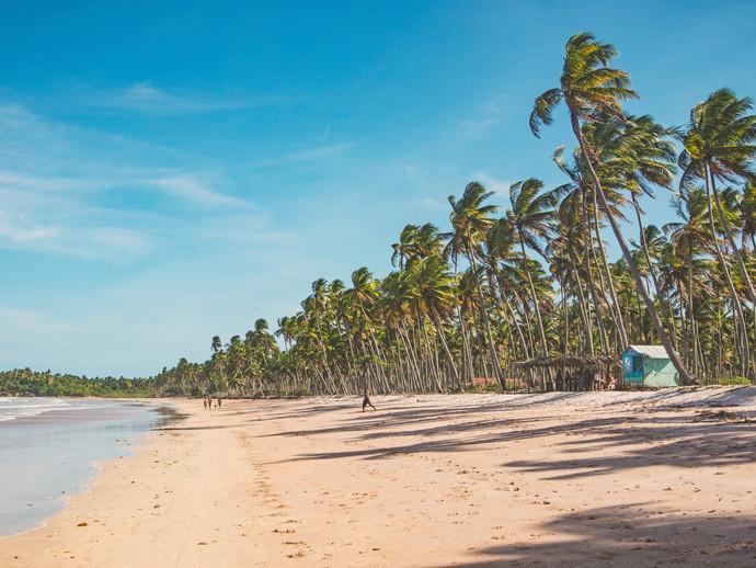 As lindas paisagens da Ilha da Boipeba serão o perfeito cenário para saudar 2019!