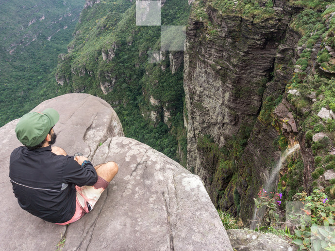 Cachoeira da Fumaça é um dos cartões-postais da Chapada Diamantina