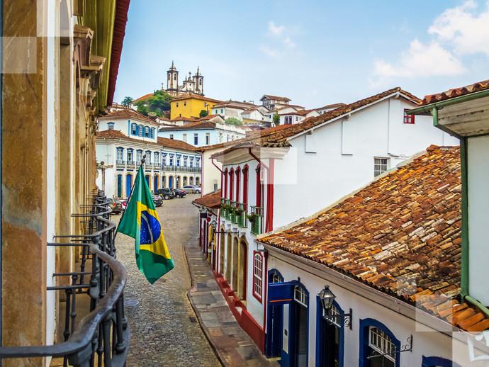 As ruas históricas de Ouro Preto são cenário para um dos carnavais mais tradicionais do país