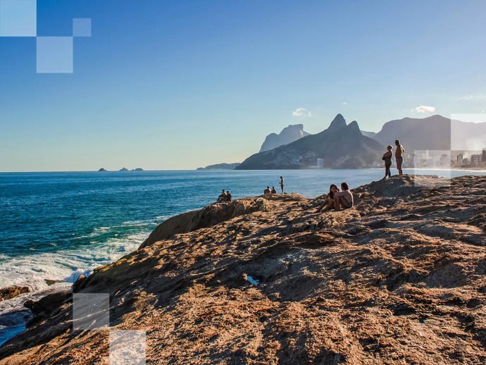 A praia de Ipanema é um dos indiscutíveis cartões-postais do Rio de Janeiro