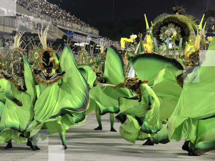Carnaval no Rio de Janeiro - um dos maiores festas populares do mundo!