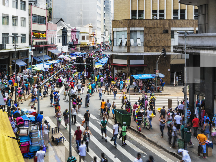 O carnaval de rua em São Paulo é atualmente um dos mais badalados do Brasil
