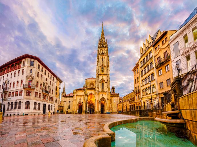 Roteiro Portugal Espanha - Oviedo