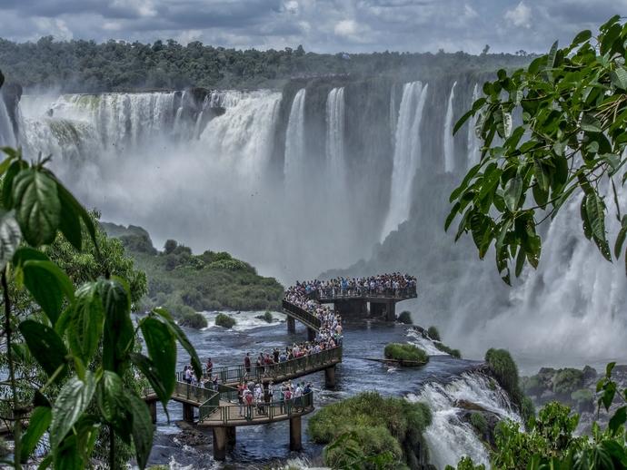 Puerto Iguazú é parada obrigatória para quem visita o lado argentino das Cataratas do Iguaçu