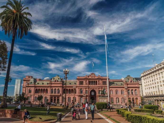A Casa Rosada é um dos tantos atrativos turísticos da cosmopolita Buenos Aires