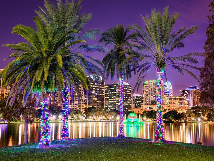 Orlando é palco de muitas luzes, cores e diversão para todas as idades