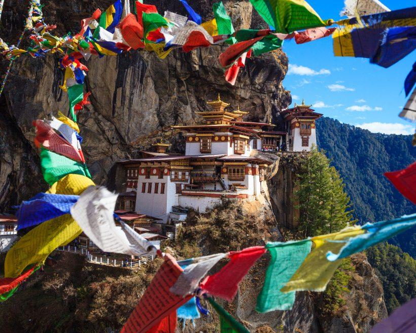 A felicidade mora aqui: 5 paisagens misteriosas de Butão