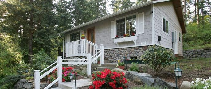 A Hidden Haven & Water Garden Cottages - Port Angeles - Edifício