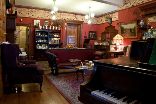 Castle Marne Bed & Breakfast - Denver - Sala de estar