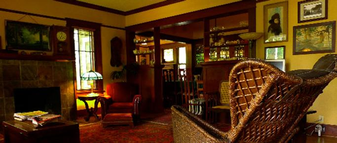A Cowslip's Belle-Bed & Breakfast - Ashland - Sala de estar