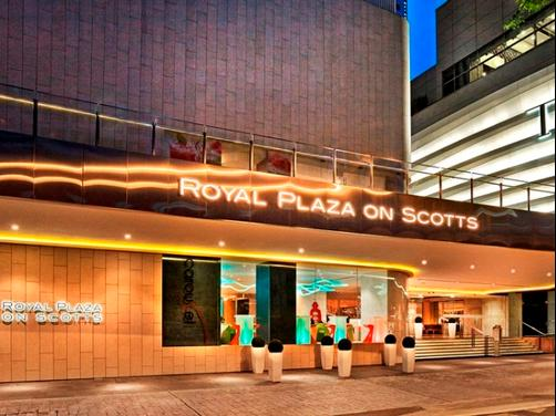 Royal Plaza On Scotts - Singapura - Edifício