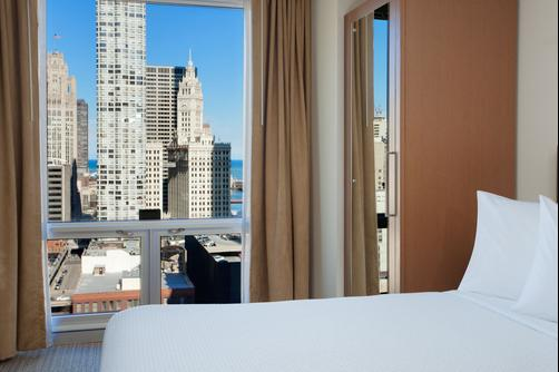 SpringHill Suites by Marriott Chicago Downtown River North - Chicago - Quarto duplo