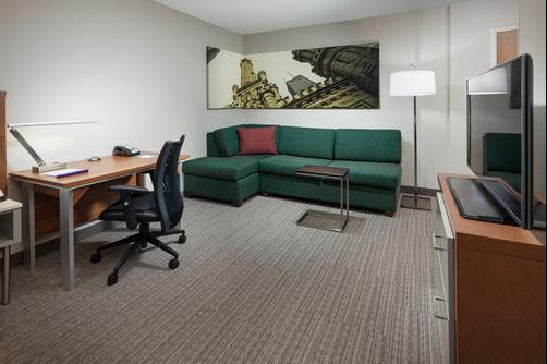 SpringHill Suites by Marriott Chicago Downtown River North - Chicago - Sala de estar