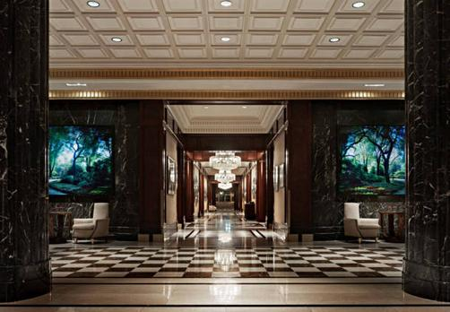 JW Marriott Essex House New York - Nova Iorque - Lobby