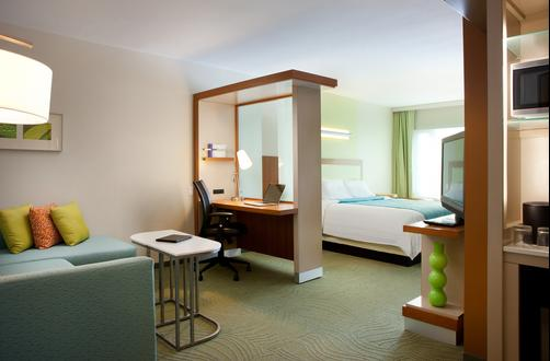 SpringHill Suites by Marriott Las Vegas Convention Center - Las Vegas - Quarto
